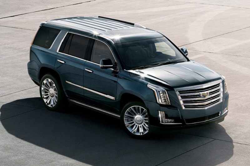 For those who dress to impress, the Cadillac Escalade is a can't-miss candidate.
