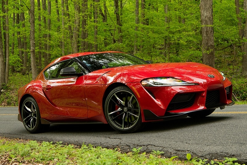 See the body of the 2021 Toyota Supra