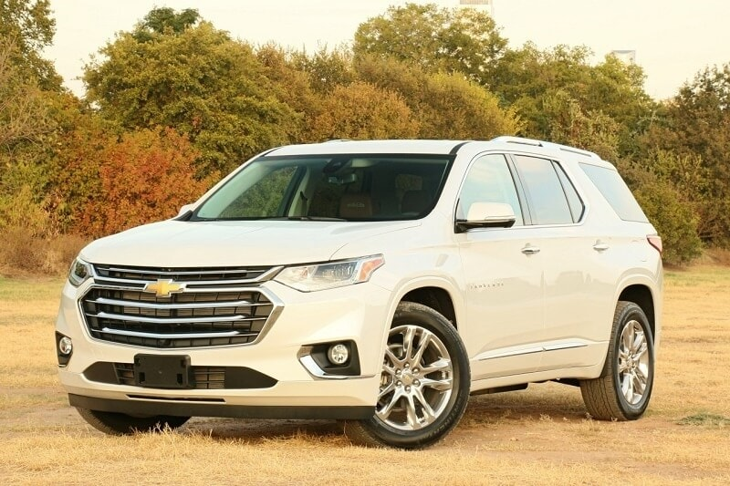 Image of a 2020 Chevrolet Traverse
