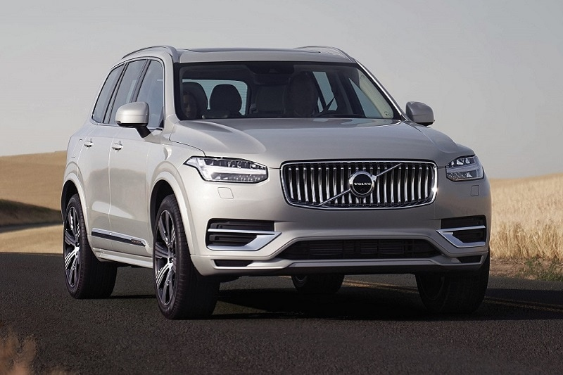 View of the 2020 Volvo XC90 T8 eAWD