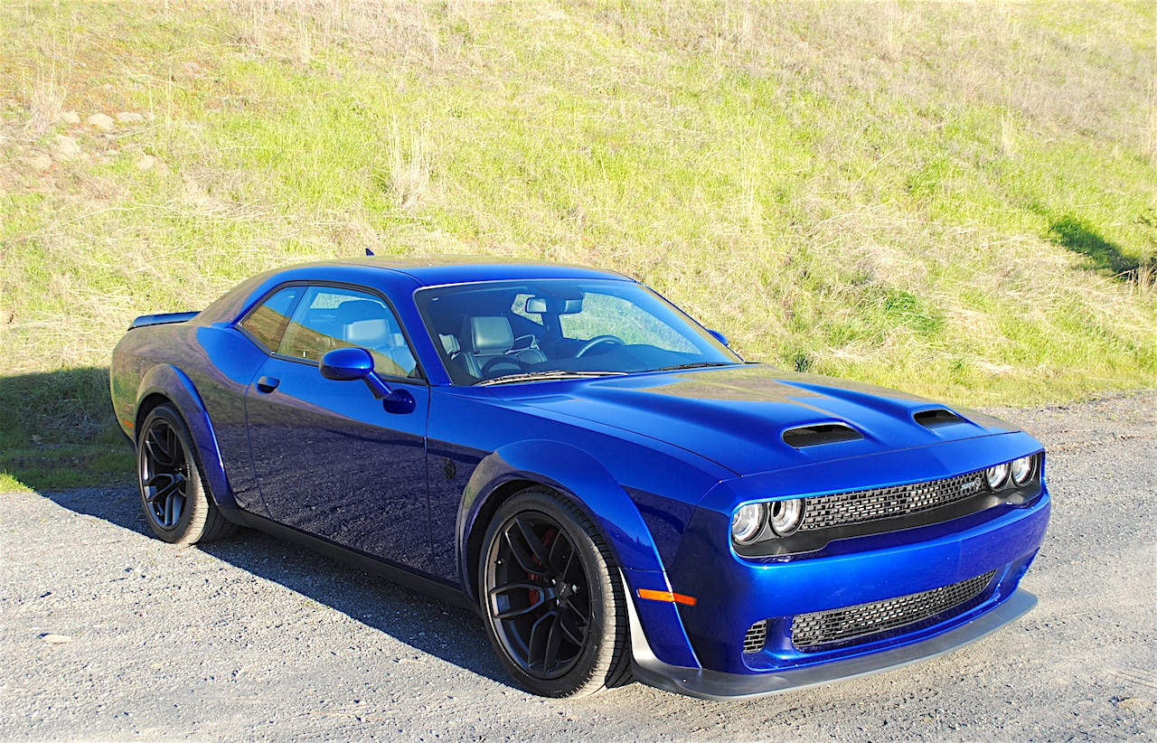Exterior view of the 2019 Dodge Challenger Redeye Widebody