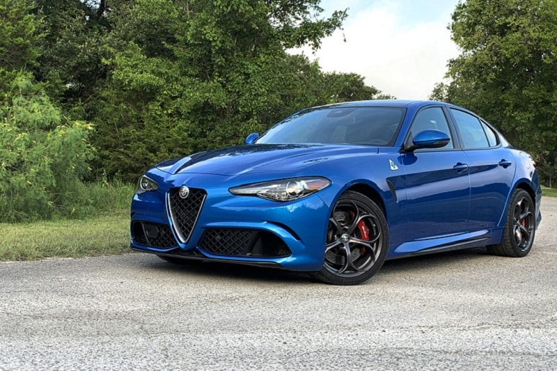 Alfa built the Giulia Quadrifoglio to convert air and fuel into neck-straining forward motion and organ-shifting turns.