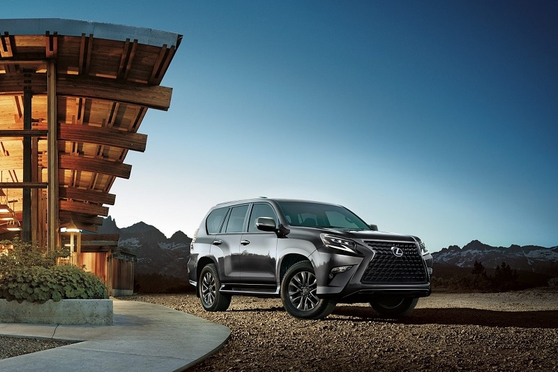 See the body of the 2020 Lexus GX 460