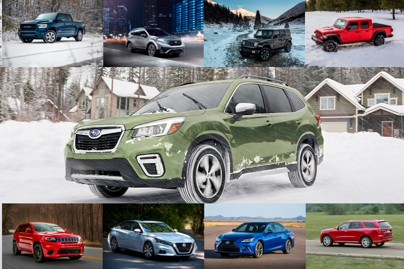 These ten vehicles will keep you moving through winter weather with ease.