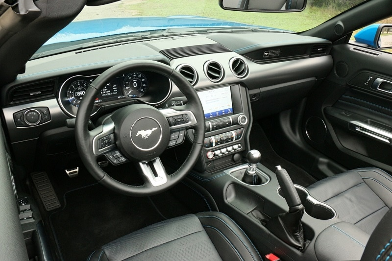 2020 Ford Mustang EcoBoost interior