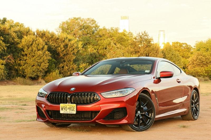 BMW, M850i, Front