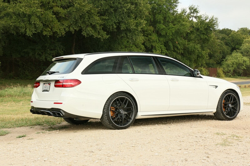 Mercedes, AMG, E 63, Wagon, Back
