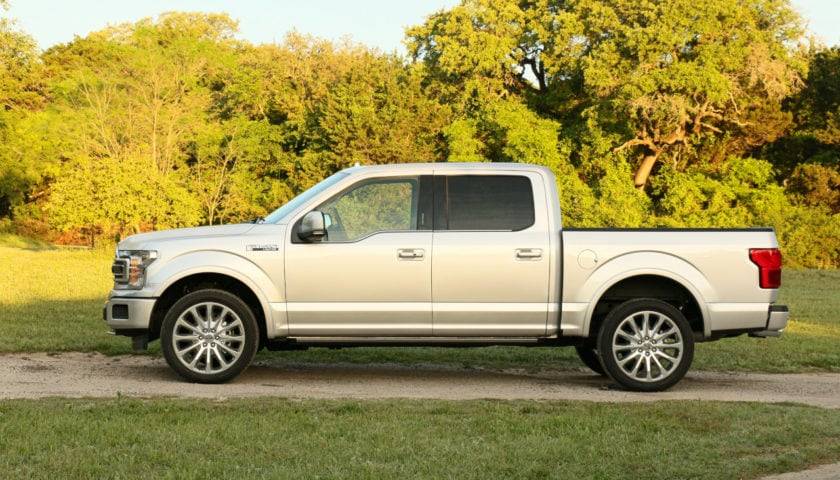 See the body of the 2019 Ford F-150 Limited 4x4