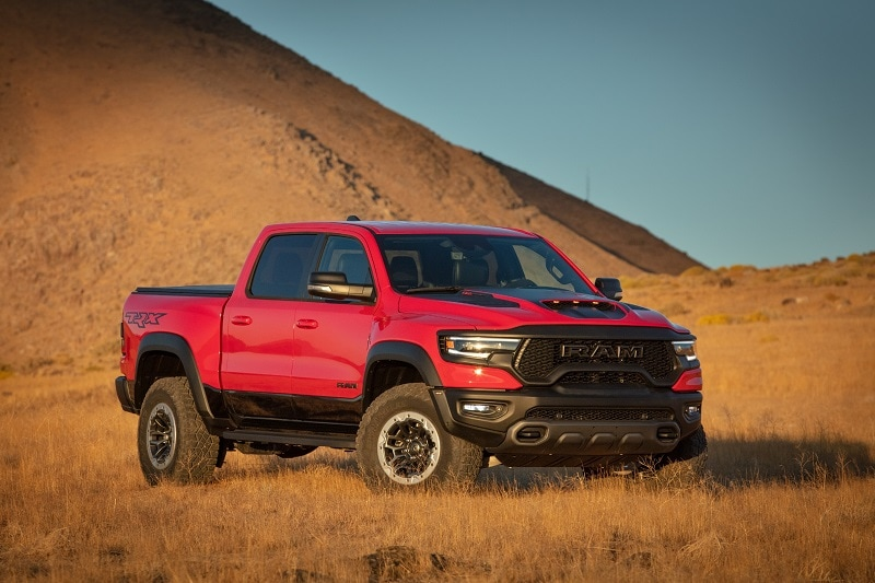 Exterior view of the 2021 RAM 1500 TRX