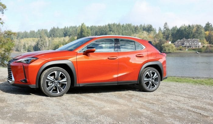 See the exterior of the 2019 Lexus UX