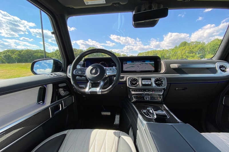 See the interior of the 2020 Mercedes-AMG G63