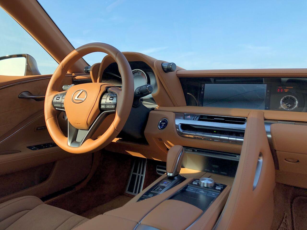 2020 Lexus LC 500h