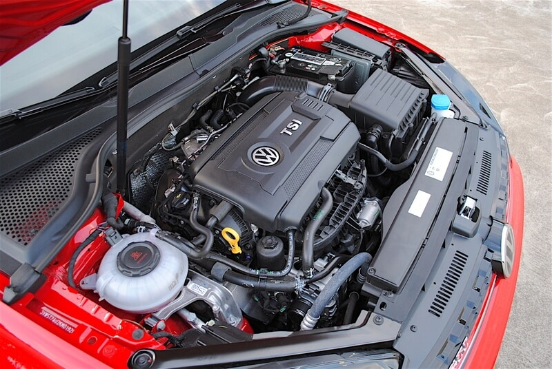 The GTI's 2.0-liter turbo four-cylinder makes 228 hp and 258 lb-ft of torque.
