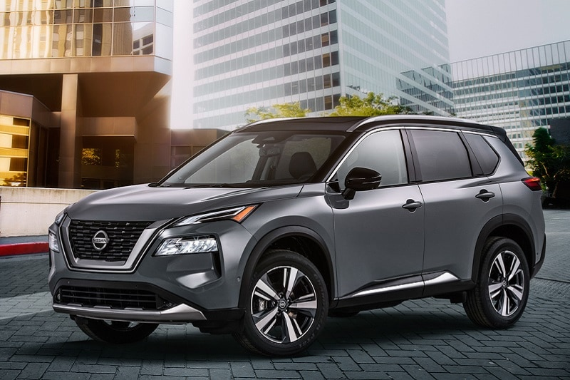 Exterior view of an SUV packed with great features