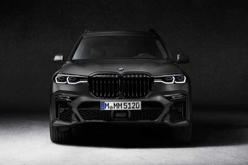 Exterior view of the BMW X7