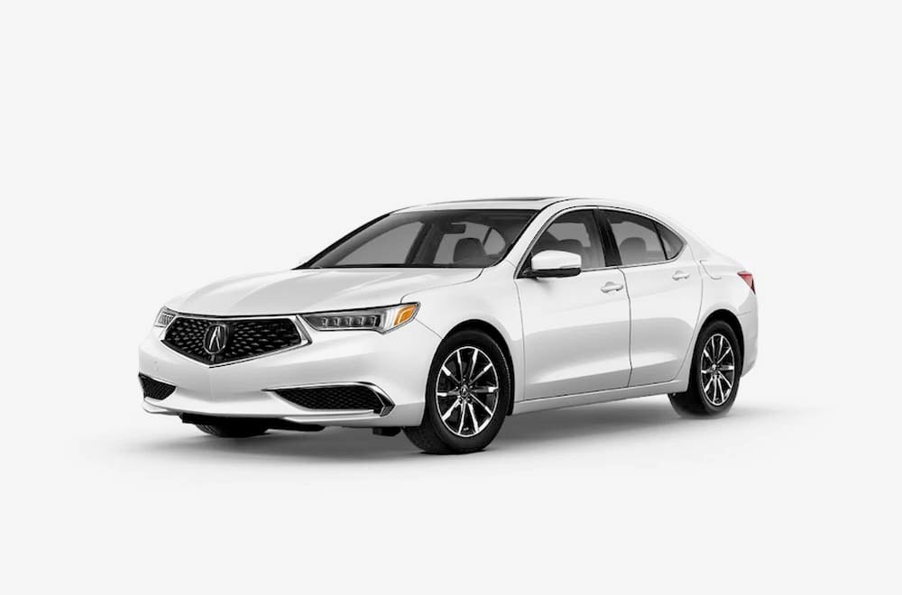 View of the Acura TLX