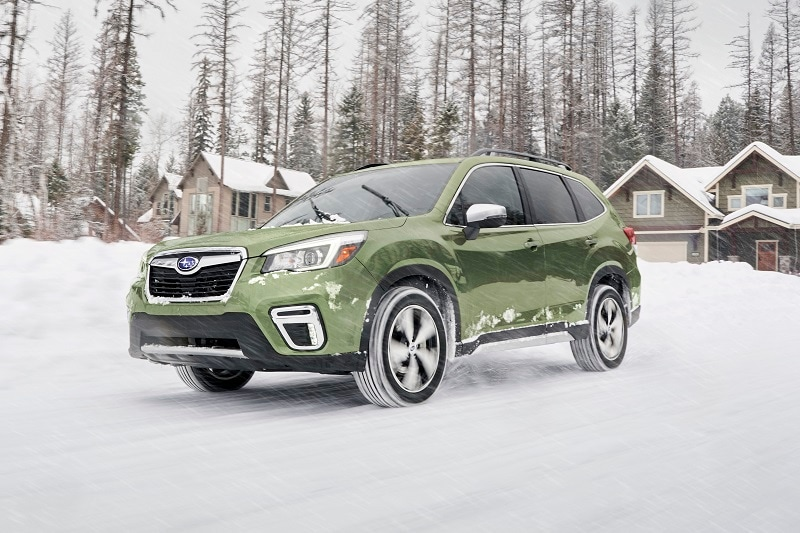 The Subaru Forester offers an affordable way to road-trip with your family during frightful weather.