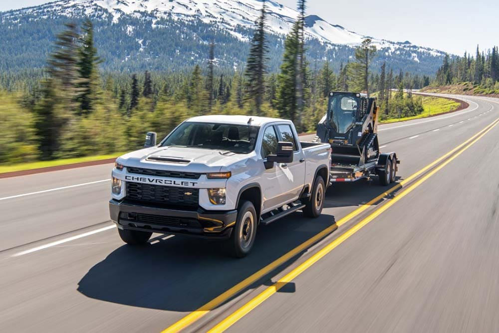 See the exterior of the 2020 Chevrolet Silverado 2500HD