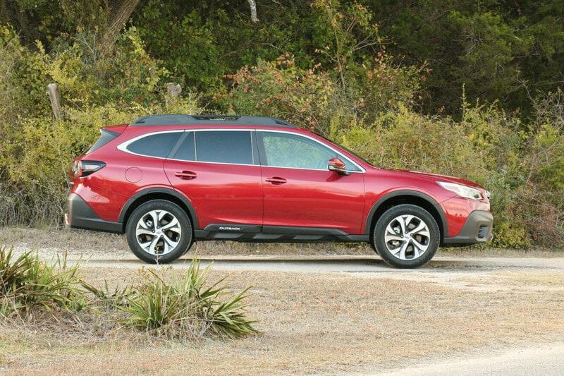 Subaru, Outback, Profile
