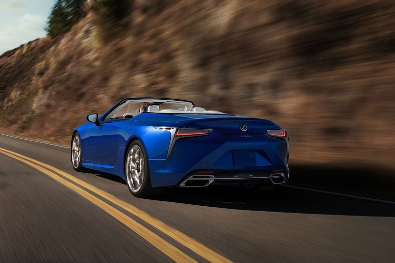 Safety equipment and features in the 2021 Lexus LC 500