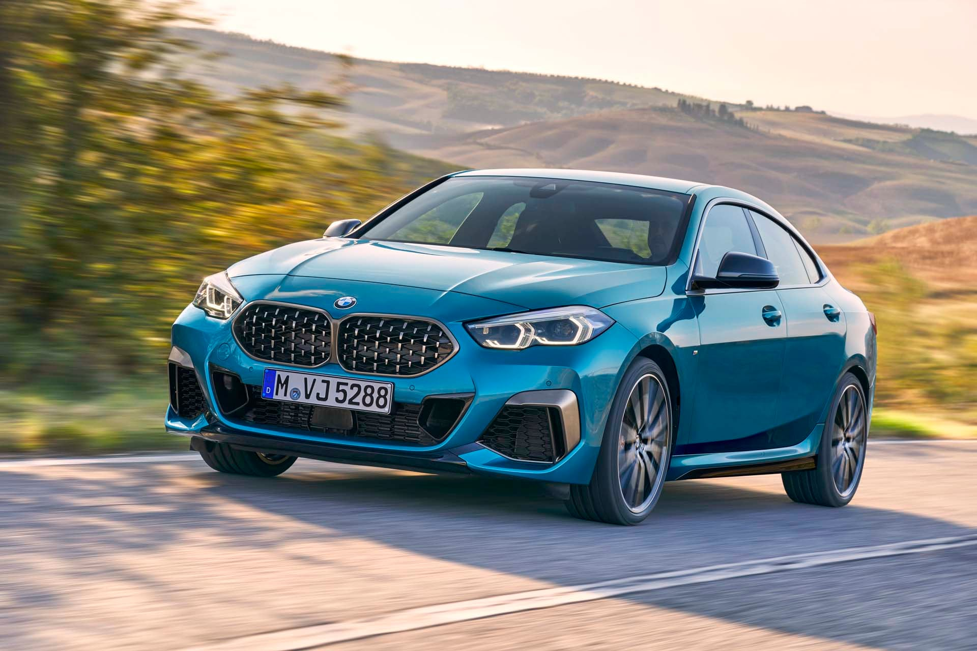 See the body of the 2020 BMW M235i xDrive Gran Coupe