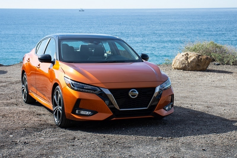 See the body of the 2020 Nissan Sentra
