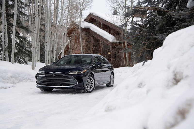 Exterior view of the Toyota Avalon
