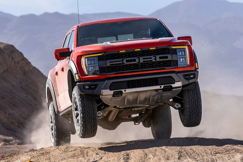 Exterior view of the 2020 Ford F-150 Raptor