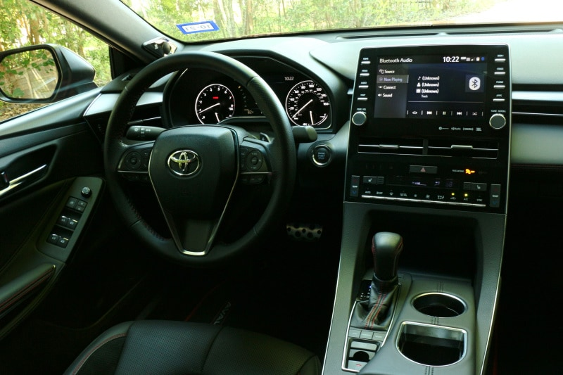 See the interior of the 2020 Toyota Avalon TRD