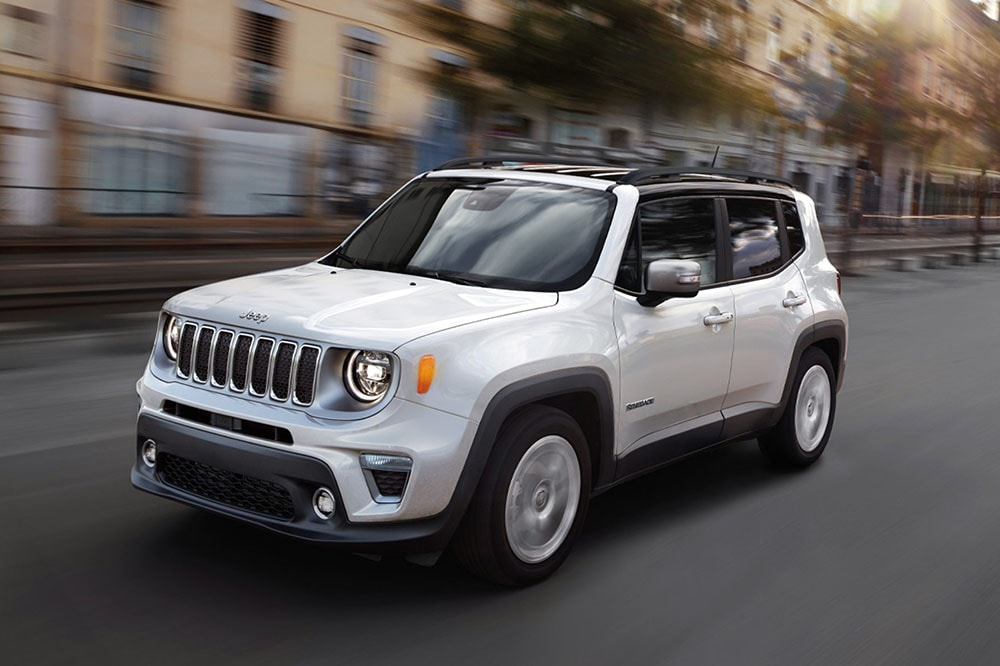 See the exterior of the 2020 Jeep Renegade Limited 4X4