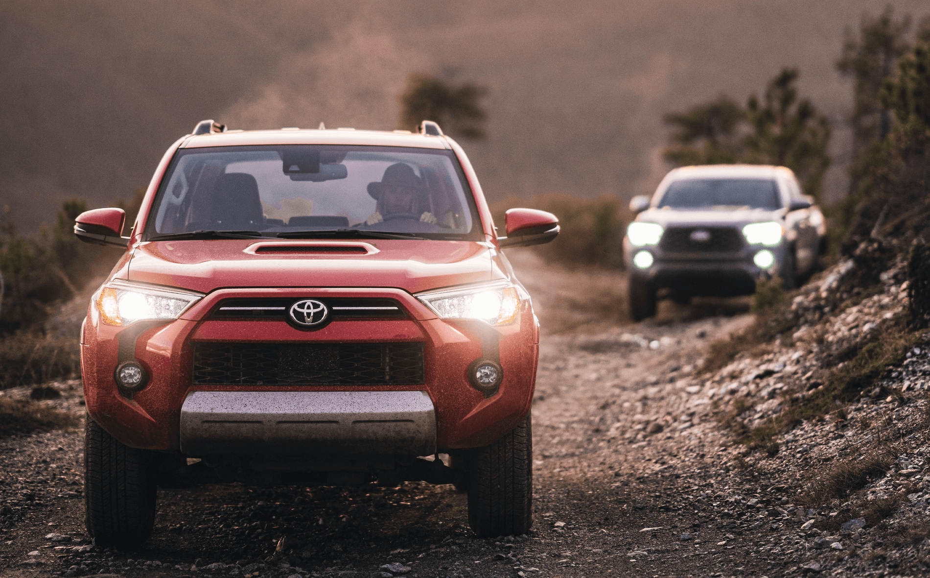 Exterior view of the 2021 Toyota 4Runner