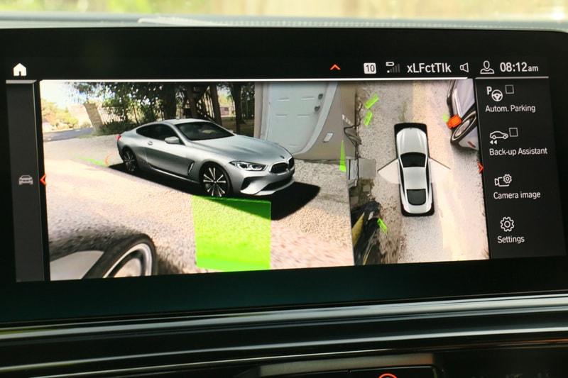 BMW, M850i, Backup Camera
