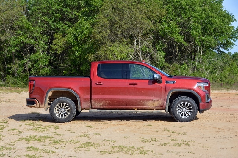 The GMC Sierra 1500 AT4 balances on-road refinement, interior luxury, and off-road muscle.