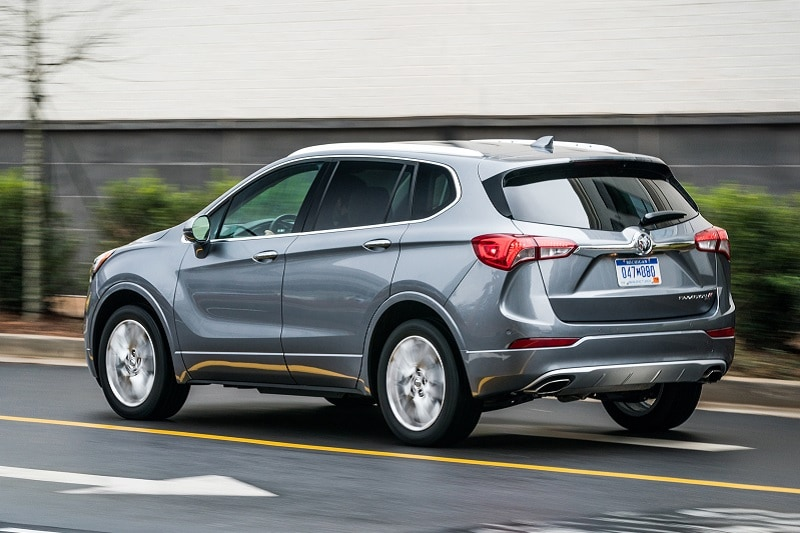 Exterior view of the Buick Envision