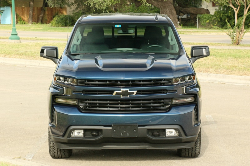 See the exterior of the 2020 Chevrolet Silverado 1500 RST