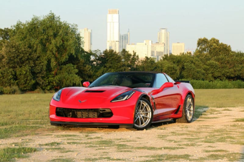 Image of a 2019 Chevrolett Corvette Grand Sport vehicle