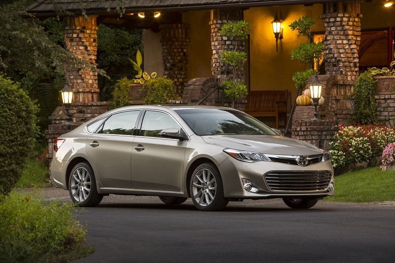 The Toyota Avalon is a great used car buy