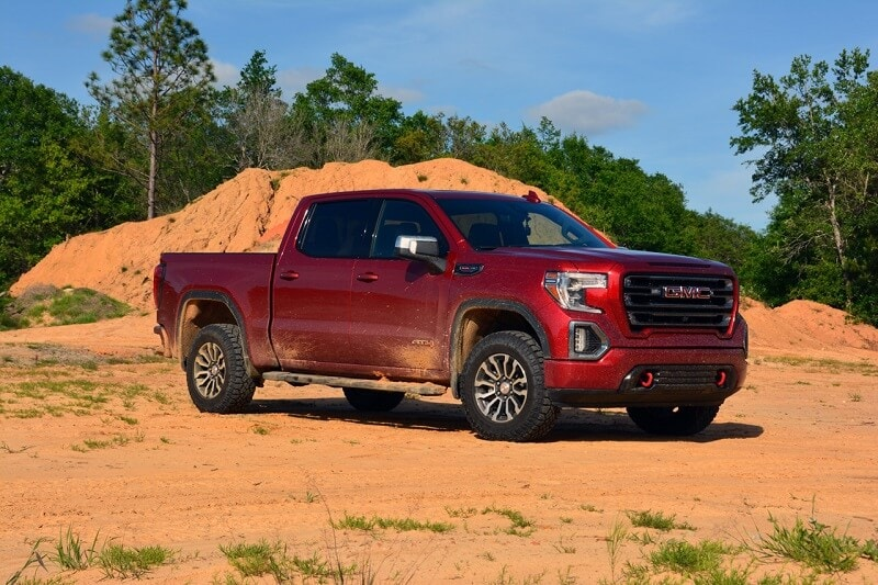 Unlike some dedicated off-road trucks the Sierra 1500 AT4, isn't brutal to operate during on-road driving.