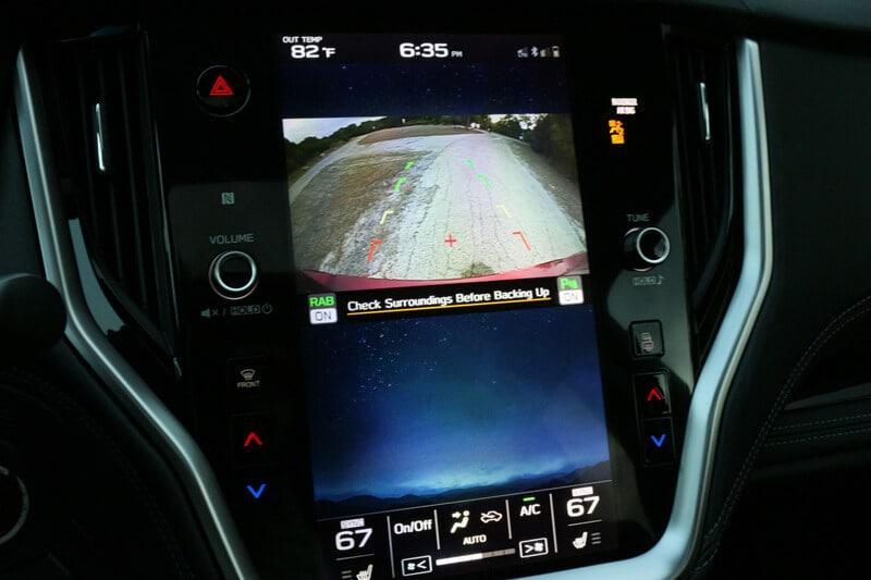 Subaru, Outback, Backup Camera