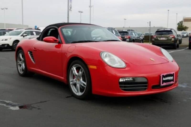 The Porsche Boxster is a great first sports car