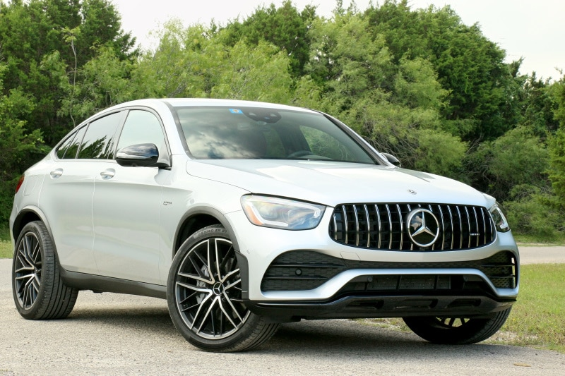 Exterior view of the 2020 Mercedes-AMG GLC 43