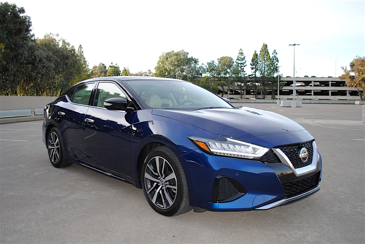 Image of a 2019 Nissan Maxima SL vehicle
