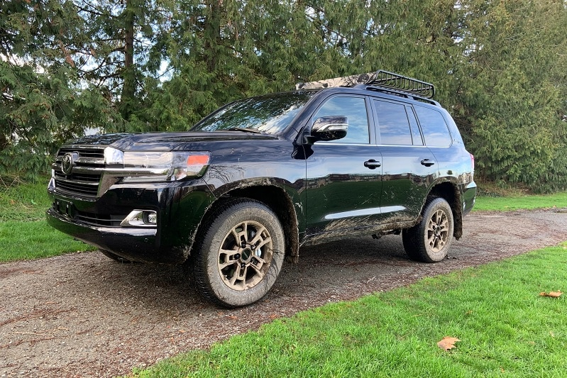 Exterior view of the 2021 Toyota Land Cruiser Heritage Edition