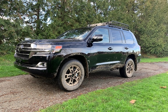 See the body of the 2021 Toyota Land Cruiser Heritage Edition