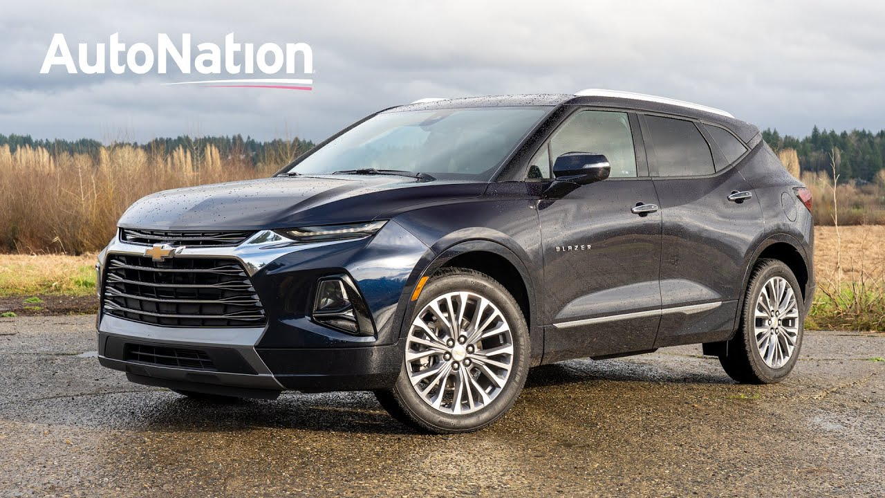 See the exterior of the 2020 Chevrolet Blazer