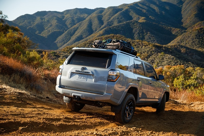Exterior view of the Toyota 4Runner