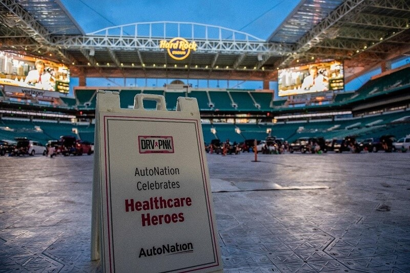 AutoNation is proud to sponsor Outdoor Theaters at Hard Rock Stadium