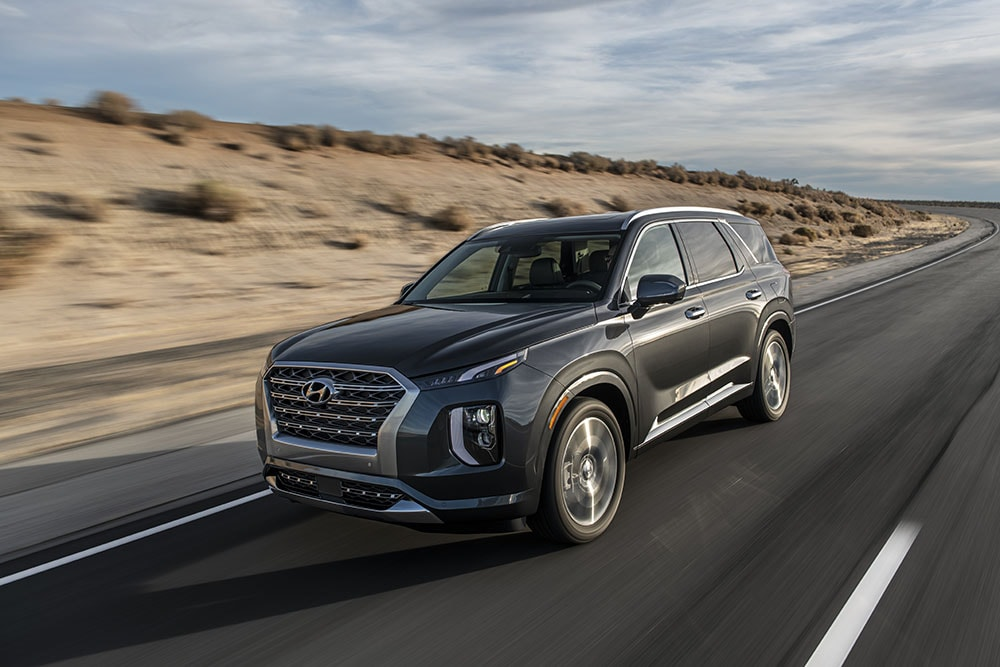See the exterior of the  2020 Hyundai Palisade Limited