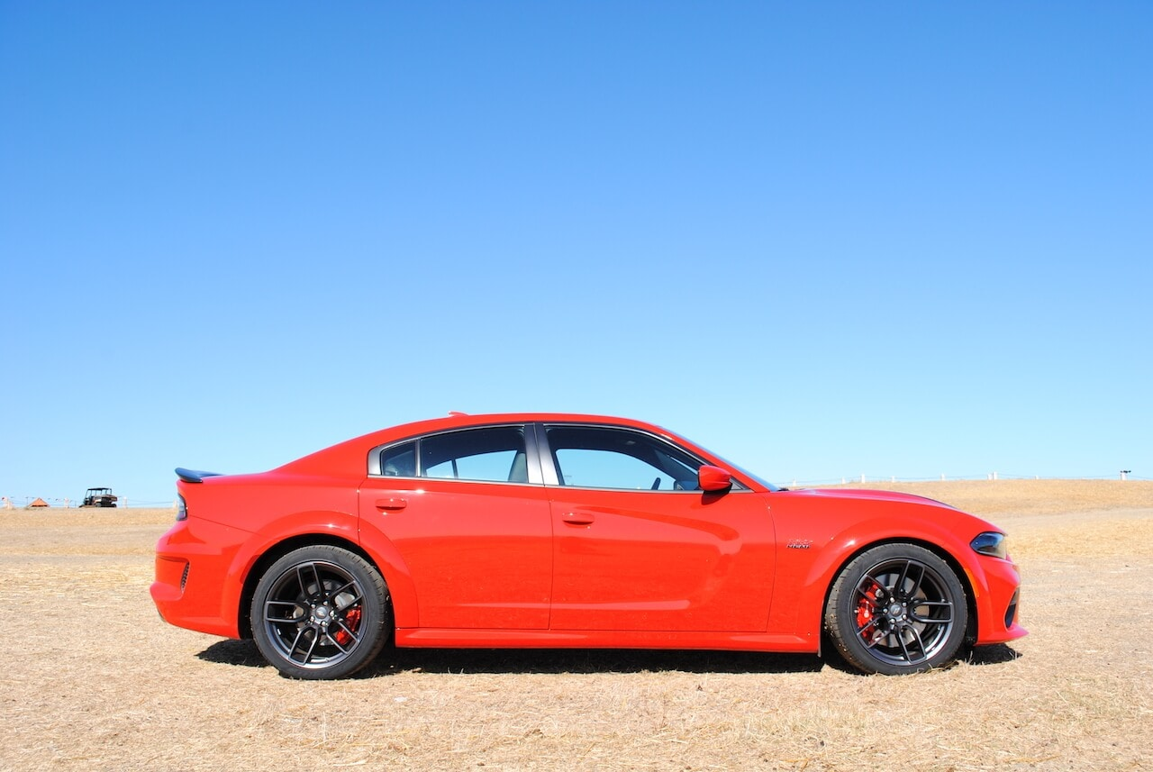 Dodge, Charger, Scat Pack, Widebody, Profile