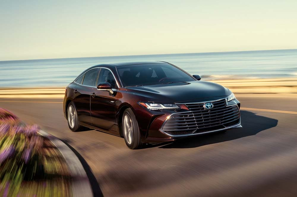 Exterior view of the 2020 Toyota Avalon Limited